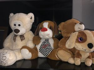 stuffed animals :)) for Sale in Garland, TX
