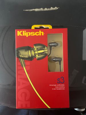 Klipsch In-ear headphones for Sale in Lower Burrell, PA
