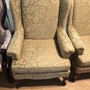 Vintage Wingback chairs for Sale in Hendersonville, TN