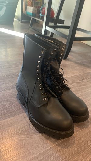 Red Wing 699 bulk logger work boots size 12 new for Sale in Huntington Beach, CA