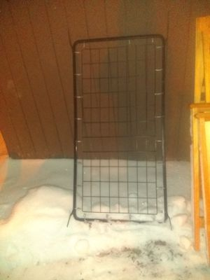 Twin size bed frame with a box spring for Sale in Lapeer, MI