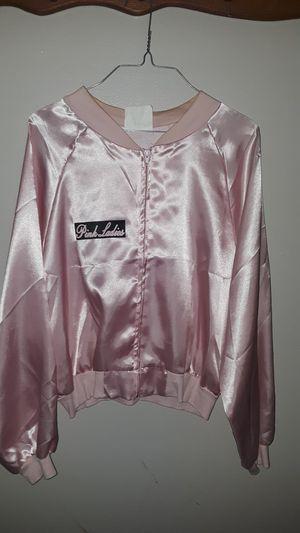 Halloween costume/Pink Ladies Jacket for Sale in Hazelwood, MO