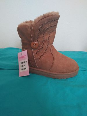 Boots for girls color. Camel for Sale in Hanford, CA