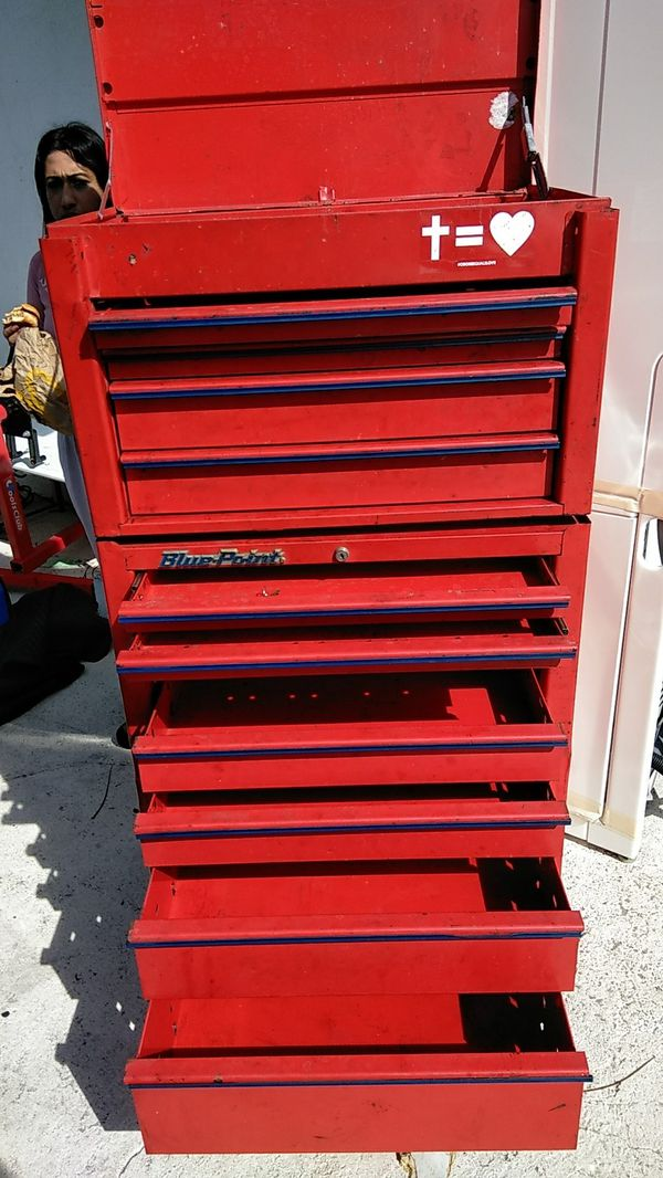 Blue Point Snap On 33inch tool chest with key for Sale in Lake Worth, FL -  OfferUp