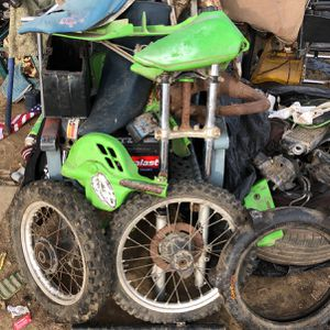 Kawisaki Dirt Bike Parts for Sale in Fresno, CA