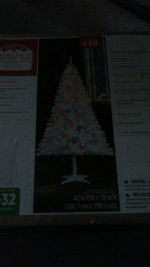 christmas tree from walmart for Sale in Fairfax, VA