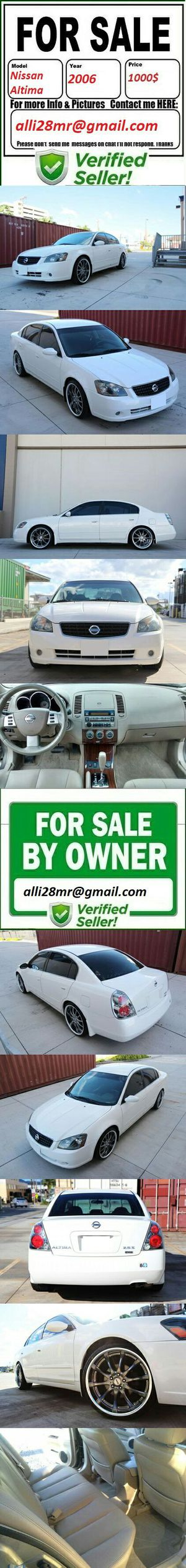 Never smoked2006 Nissan Altima for Sale in Phoenix, AZ