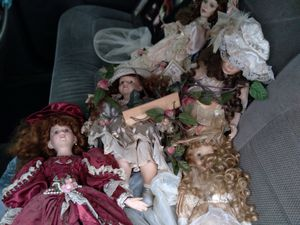 Antique/collectible porcelain dolls for Sale in North Ridgeville, OH
