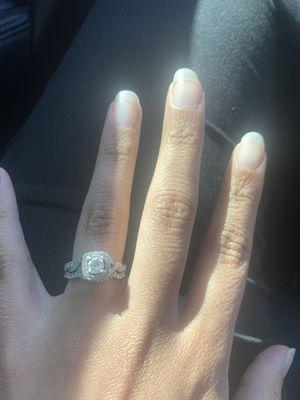 Engagement/wedding ring set for Sale in Murfreesboro, TN