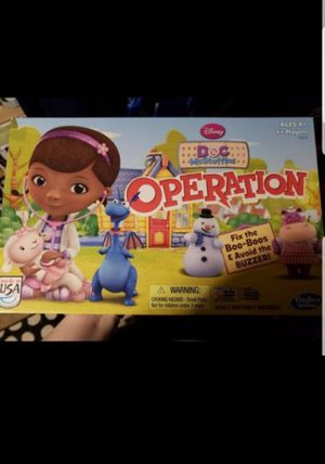 Operation doc mcstuffins edition for Sale in Federal Way, WA