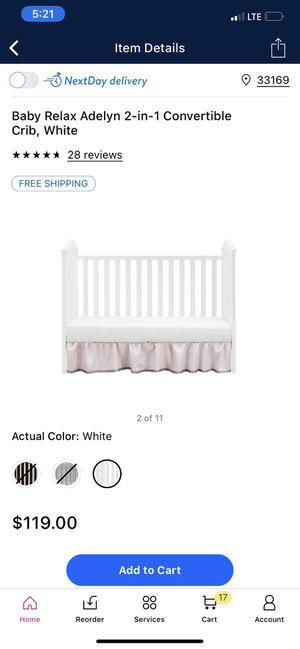 Convertible crib for Sale in Hialeah, FL