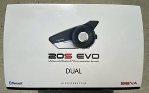 SENA 20S Evo Dual Motorcycle Bluetooth Communication System for Sale in Dinuba, CA