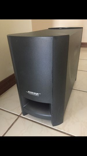 Bose CineMate Digital Home Theater System Subwoofer (sub only) Bass Module for Sale in Westminster, CA
