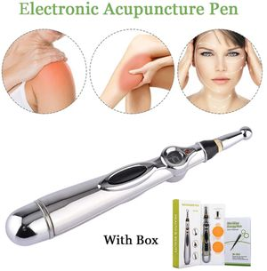 Electronic Acupuncture Pen, Electric Meridians Laser Acupuncture Machine Magnet Therapy Instrument Meridian Energy Pen Massager Relief Pain for Sale in Harrisburg, NC
