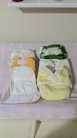 3 Bum Genius & 2 Thirsties newborn diapers for Sale in East Palo Alto, CA