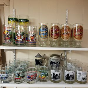 Collectible toys and diecast cars and trucks and glassware for Sale in South Attleboro, MA