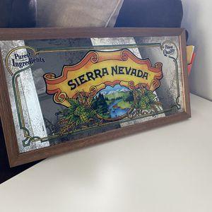 Sierra Nevada Mirror Sign for Sale in Smyrna, GA