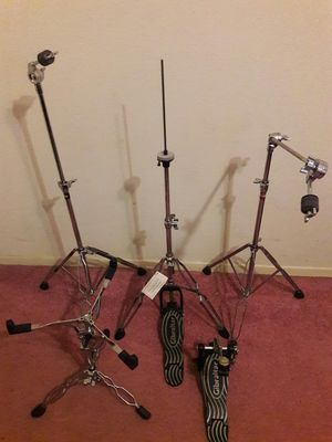 Drums hardware stands for Sale in Houston, TX