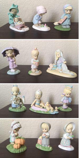 Precious Moments 1989 Miniature Calendar Figurines Full Set for Sale in Mesa, AZ