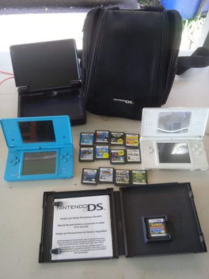 2 Nintendo ds With 13 Games for Sale in Fort Meade, FL