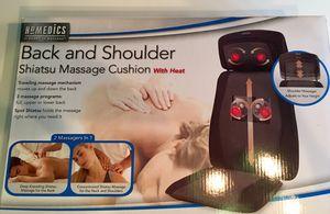 Homedics Back and Shoulder 2 Massagers in 1 for Sale in Woodbridge, VA