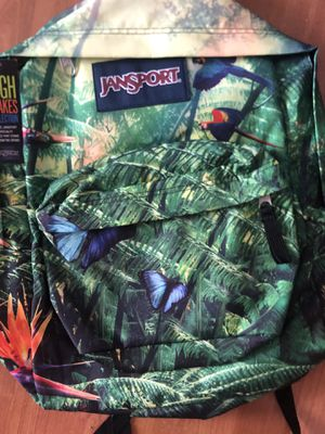 New Jansport High Stakes Collection rainforest backpack for Sale in Garrison, MD