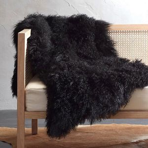 Project 62 Mongolian Faux Fur Throw for Sale in San Jose, CA