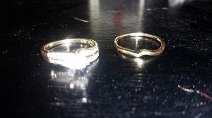 10k yellow gold wedding set for Sale in Hyattsville, MD