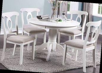 5-PC DINING SET--WHITE - F2560 for Sale in La Verne,  CA
