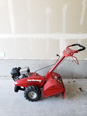Yard Machines 18inch tilling width for Sale in Tacoma, WA