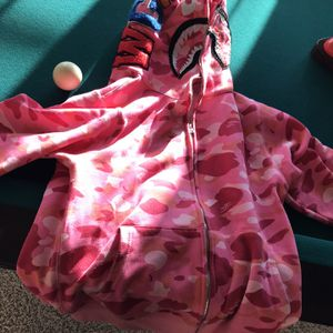 Pink Camouflage Bape Jacket for Sale in Henderson, NV