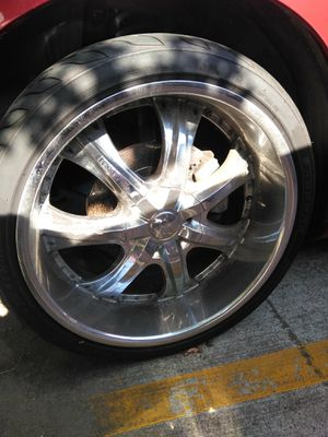22' Chrome Rims **AS IS** for Sale in Houston, TX