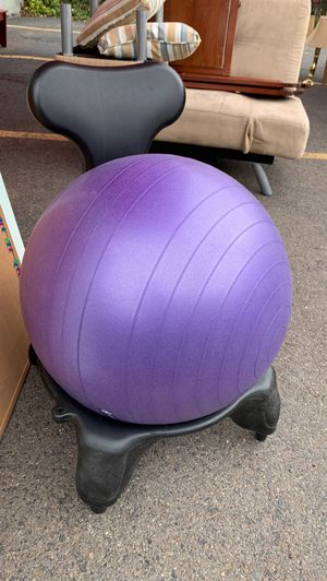 Exercise ball chair for Sale in Ashland, OR