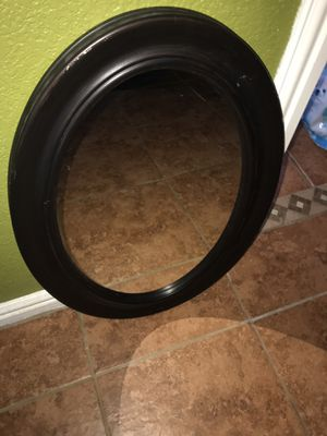 Oval shaped mirror for Sale in Garland, TX