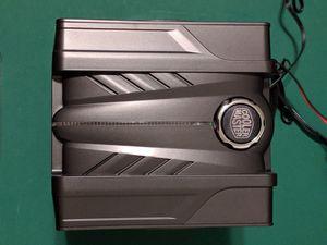 Cooler Master V6 GT CPU Air Cooler Red LED Corsair 120mm fans LGA 1151 AMD for Sale in Modesto, CA