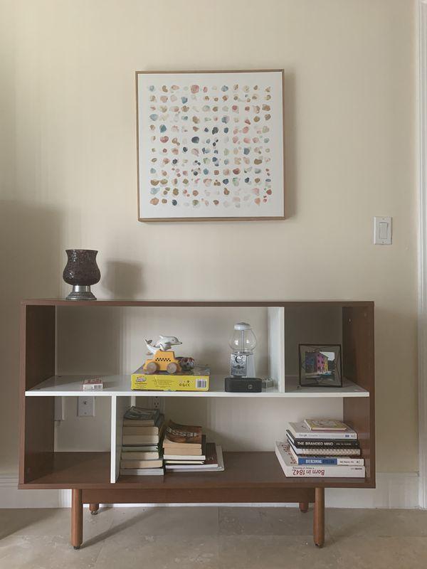 Bookshelf & Painting
