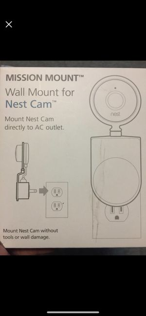 Wall Mount for Nest Cam *pallet item* for Sale in Johnson City, TN