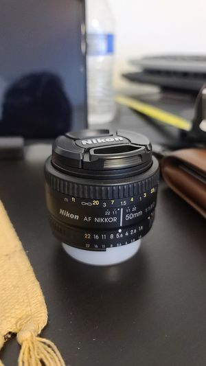 Nikon 50mm 1.8F, F Mount Lens with Auto-Focus for Sale in Phoenix, AZ