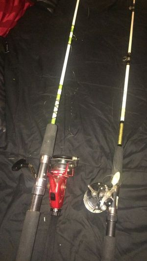 2 Fishing Rods for Sale in Washington, DC