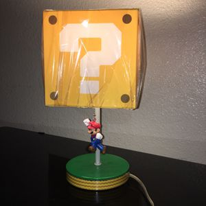 Mario Lamp for Sale in Highland, CA