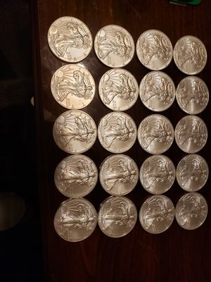 Tube of American Silver Eagles (20 total!) for Sale in Horseheads, NY