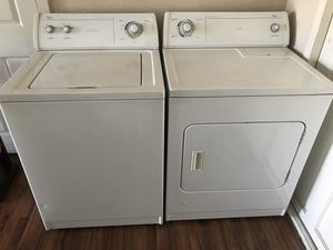 🔥whirlpool🔥 Washer and gas dryer set for Sale in Riverside, CA