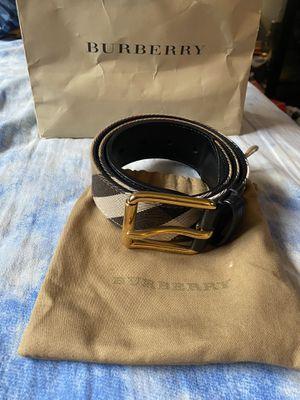 Burberry Belt sz 34/85 for Sale in Ocoee, FL
