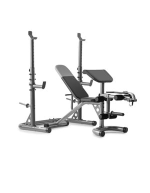 New Olympic Workout Bench & Squat Rack With Preacher Pad - Weider XRS 20 for Sale in Millis, MA