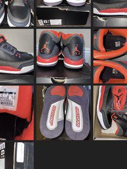 Jordan 3 Retro Crimson Size 6.5Y for Sale in Long Beach,  CA