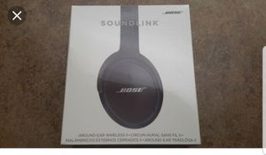 Bose soundlink ii headphones for Sale in Rancho Cucamonga, CA
