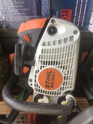 Stihl MS193 Gas Powered Chainsaw Ready To Work! for Sale in Hialeah, FL