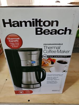 hamilton beach thermal coffee maker for Sale in Riverside, CA