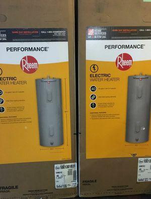 Rheem 40 Gallon Electric Hot Water Heater. for Sale in Philadelphia, PA