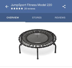 JumpSport Fitness Trampoline for Sale in Orlando, FL